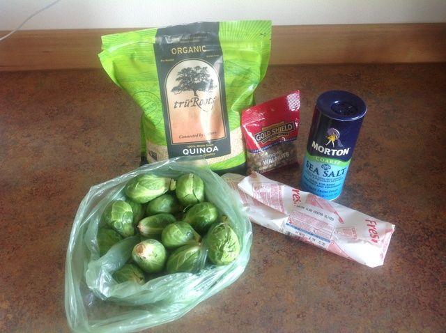 Cómo cocinar caliente Ensalada Receta Col de Bruselas