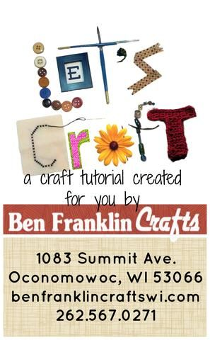 Nosotros'd love to see your finished ornament hangers on our Facebook page! http://facebook.com/pages/Ben-Franklin-Crafts/333747557922 Watch for another seasonal craft coming next week!