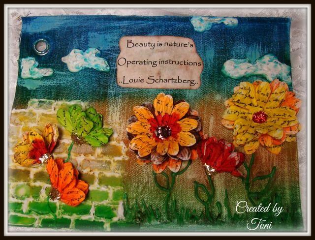 Gracias por parar cerca y para más inspiración creativa echa un vistazo a mi blog @ http://toni-burks.blogspot.com/