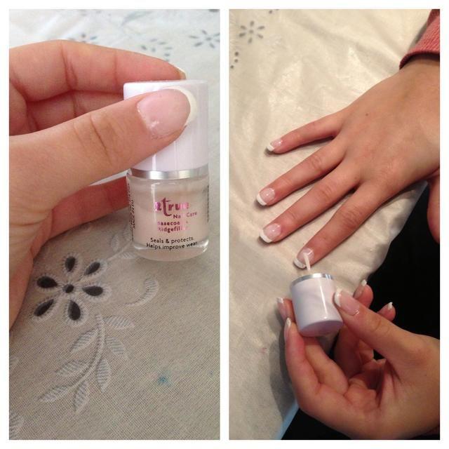 Esta etapa es opcional pero utiliza otra capa de base sobre toda la uña para suavizar las irregularidades.
