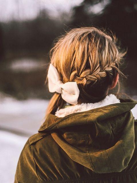 Cómo crear un trenzado Peinado para un día ventoso
