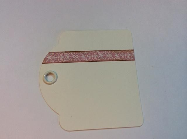 Embellecer etiquetas / páginas: Esta es la etiqueta de la cubierta. Añadir franja fronteriza rosa.
