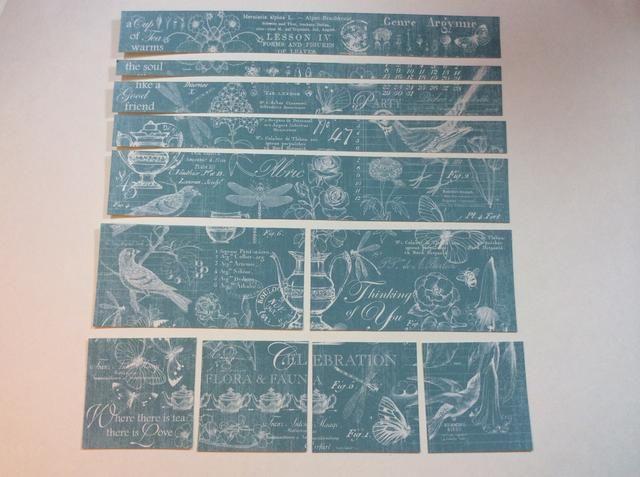 Cortar papel modelada como se muestra.