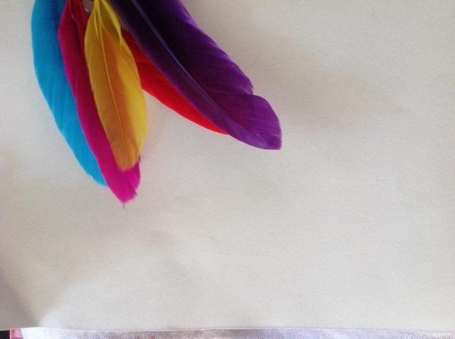 Obtener plumas individuales. El mismo color o diferente.