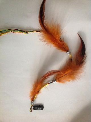 Esta es otra variante usando una cuerda y los granos
