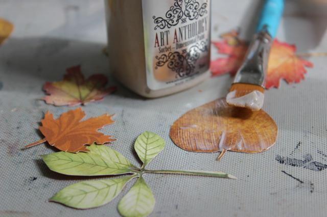 De esta manera no sólo hará que las hojas más rígida y más fácil de usar, pero añade un hermoso brillo a ellos.