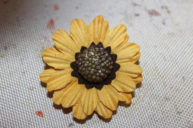 Aquí está una de las flores Prima he usado.