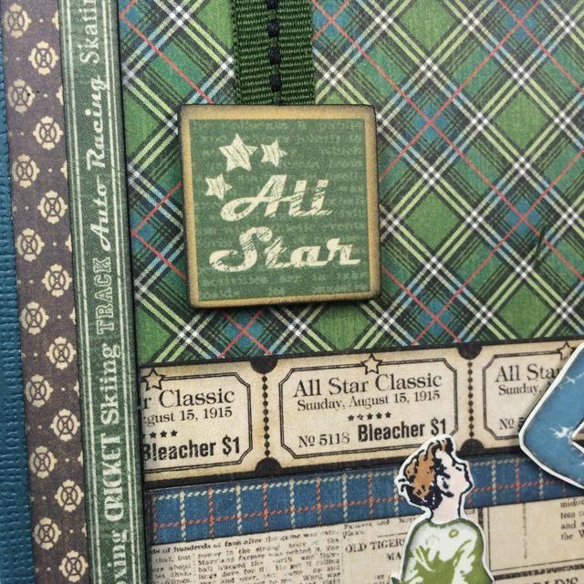 Añadir una etiqueta aglomerado y de corto pedazo de cinta en la esquina superior izquierda de la tarjeta.