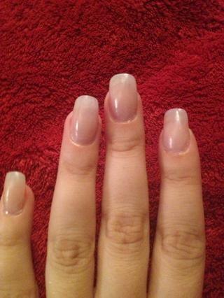 Paso 1: uñas capa base y dejar secar.