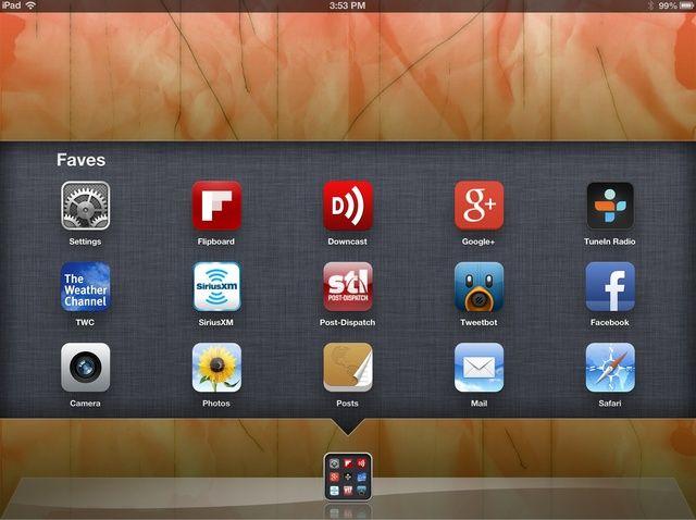 Cómo crear una carpeta en un iPad o iPhone Muelle