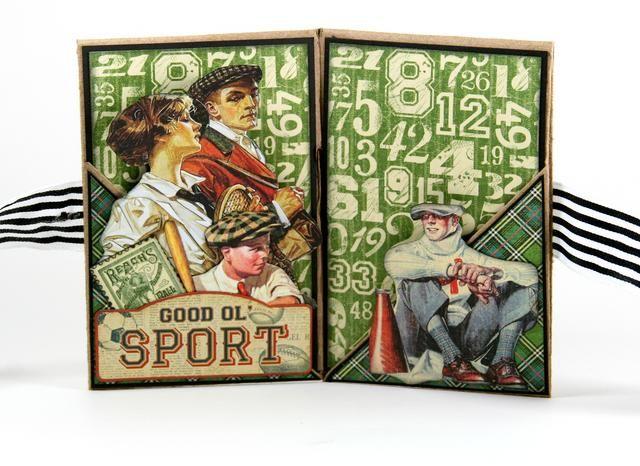 Siguiente capa en la imagen del sello chico béisbol y. Cubra el borde inferior de estas imágenes con el Buen Ol' Sport Sticker.