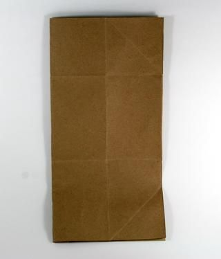 Dobla el papel de 12 x 12 en medio. Asegúrese de que realmente pulir el pliegue con una carpeta de hueso o puntuación herramienta de tablero para conseguir que agradable y plana.