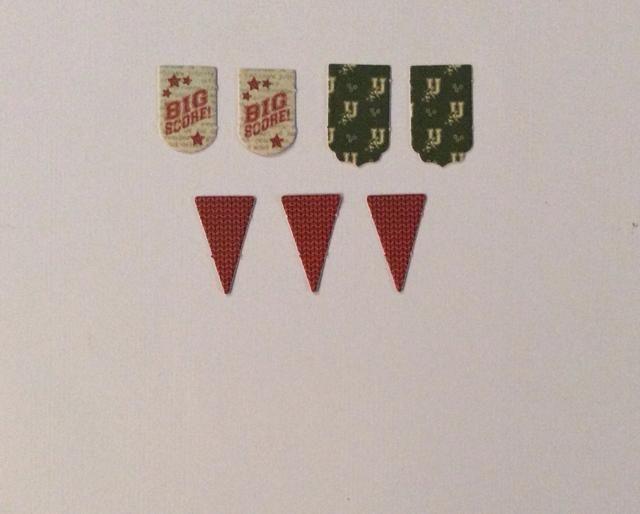 Seleccione los componentes de la bandera de la manada bandera coordinación.