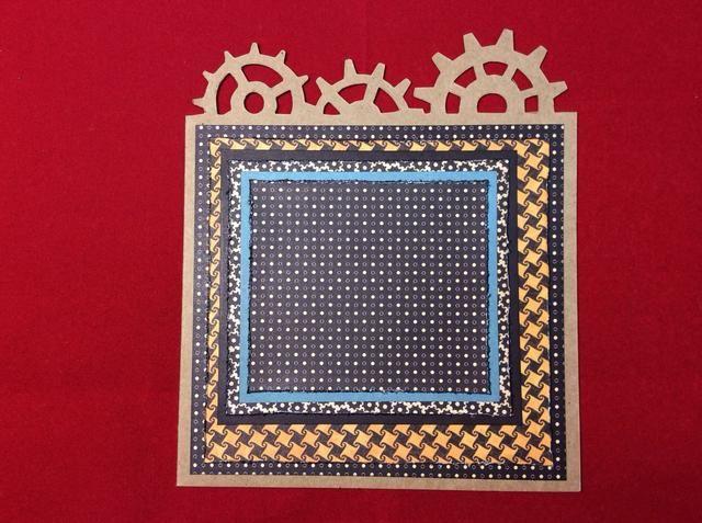 Se adhieren a los seis capas en la configuración se muestra en la imagen.