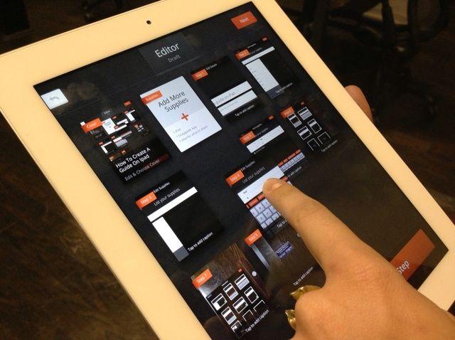 Cómo crear una guía en el iPad