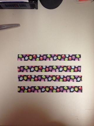 Cortar 4, 9 1/4 pulgadas de cinta, termosellado