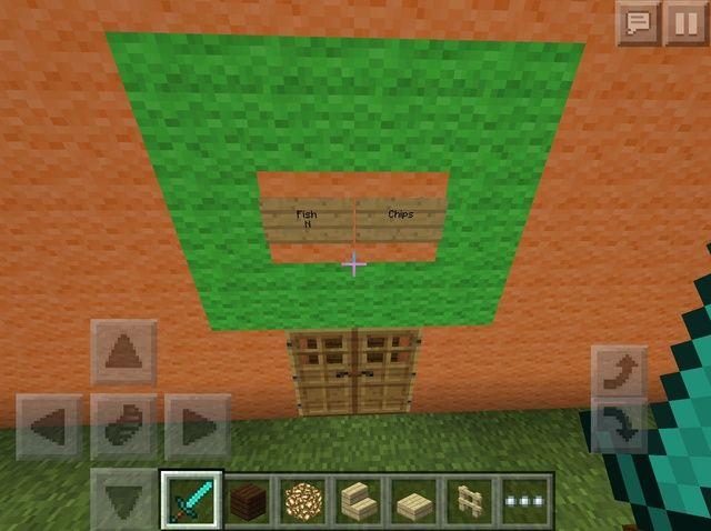 Cómo crear una Minecraft Fish and Chips Shop ??????