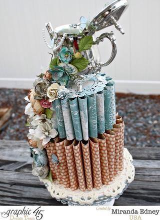 Y el pastel en detalle. Espero que darle una oportunidad. ABRAZOS.