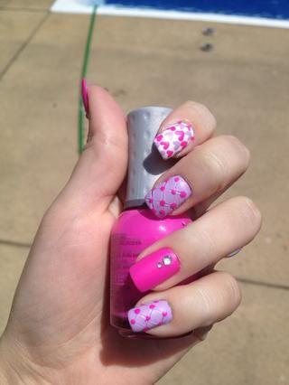 Paso 10: Deje que las uñas se sequen completamente y disfrutar !!