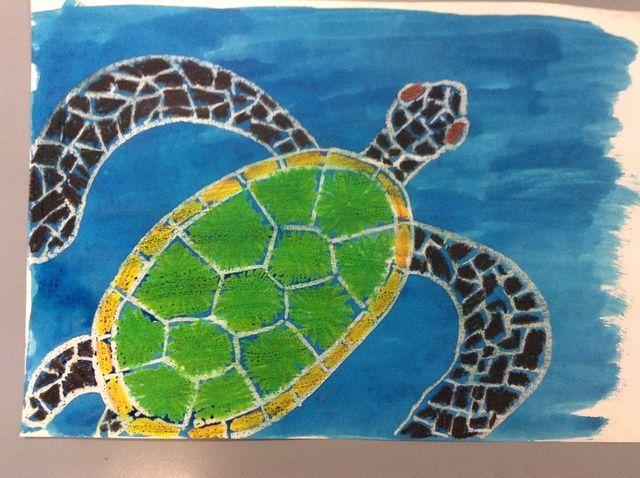 Cómo crear un arte de Tortugas Marinas