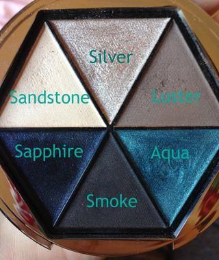 Esta es la paleta que va a utilizar pero no dude en sub cada sombra con el más cercano que usted tiene si usted don't have this particular palette. :)