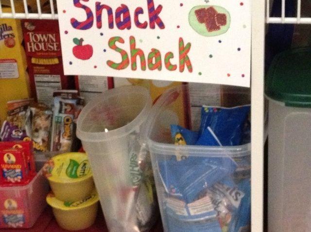 Cómo crear un Snack Shack para su receta Niños