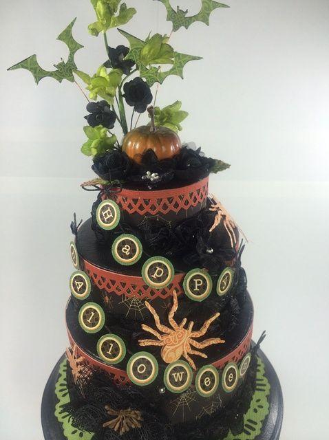 Cómo crear una fantasmagórica, Faux Cake Centerpiece