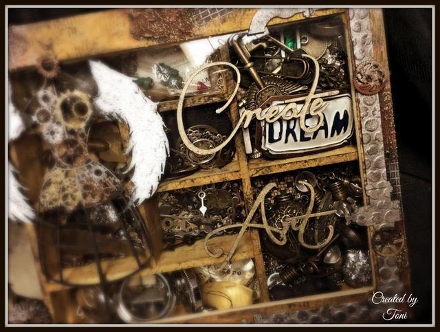 Espero que esto te ha inspirado para ir y crear arte ... Tener un día espectacular. Para más inspiración ver mi blog @ toni-burks.blogspot.com