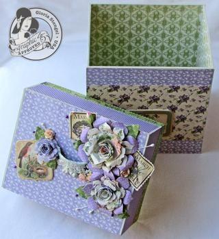 Su caja está lista para llenar con tarjetas y sobres!