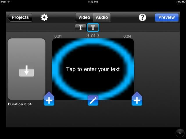 Si necesita eliminar una diapositiva, seleccione el icono del lápiz en el centro.