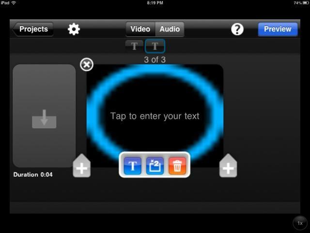 A continuación, puede editar o eliminar una diapositiva. Cuando haya terminado, seleccione
