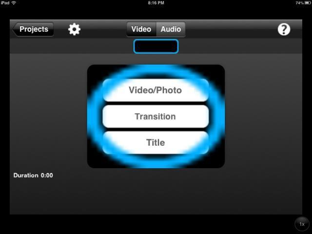 En esta pantalla, puede elegir qué tipo de diapositiva que desea agregar.