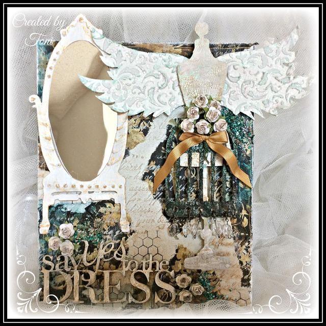 Espero que esto te ha inspirado para crear un lienzo de estilo vintage. Feliz Crafting!