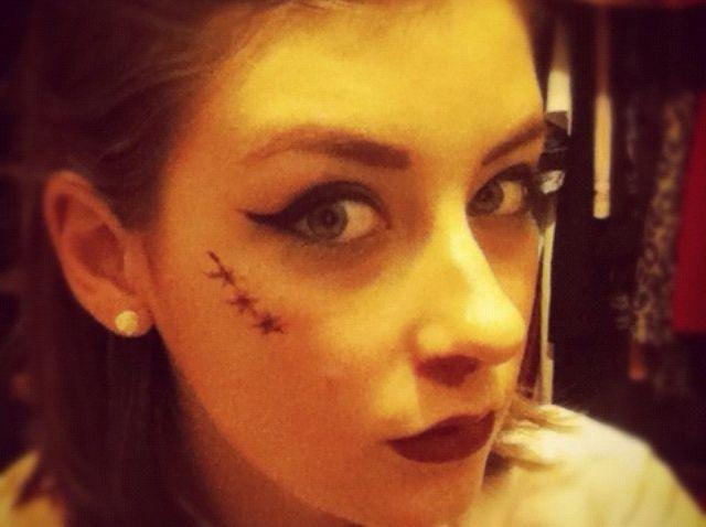 Cómo crear una mirada Zombie Pin Up Girl