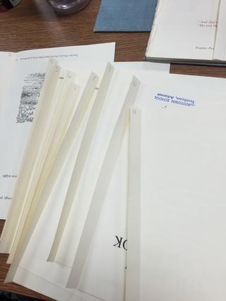 Pegue el resto de las páginas al igual que la página 3 de la etapa 21.