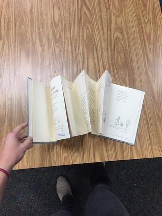 Y aquí está el libro de estilo acordeón! ¡Lo hiciste!