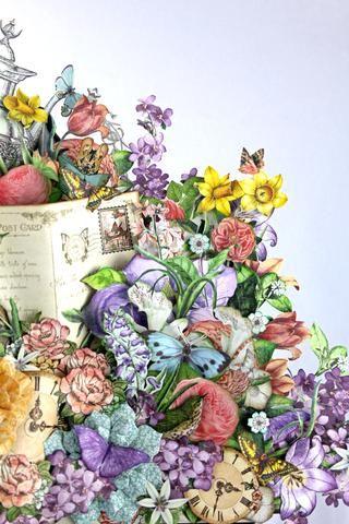 Puede agregar tantos o tan pequeñas flores y adornos como quieras. Recuerde hacer a tu gusto.