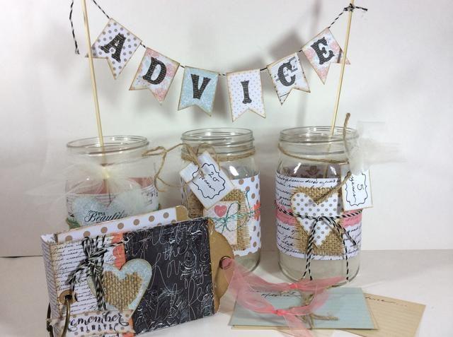 Hace un regalo maravilloso o un evento de ducha muy diversión interactiva. Cambiar el tema de papel para crear frascos de memoria / asesoramiento para cualquier fiesta o evento !! Baby showers, graduaciones, cumpleaños y más !! ¡¡¡Disfrutar!!!
