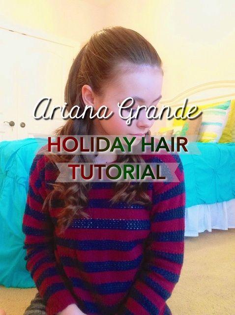 Cómo crear un peinado de vacaciones Ariana Grande Inspirado
