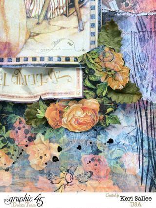 Añadir las hojas de papel por Petaloo alrededor de sus flores cortadas quisquillosos.