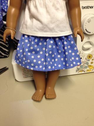 Una pequeña falda linda!