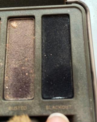 Por último si'm feeling like having my makeup a bit bolder, I take the shade
