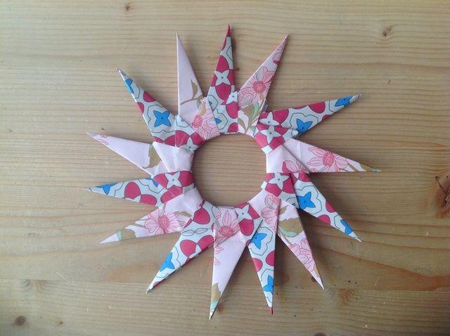 Cómo crear una estrella de Origami