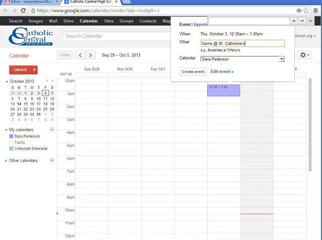 Cómo crear y compartir un calendario Google