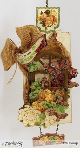 Voilá !!!! Usted tiene una decoración hermosa pared de su casa esta temporada de otoño.
