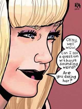 Gwen Stacy ...