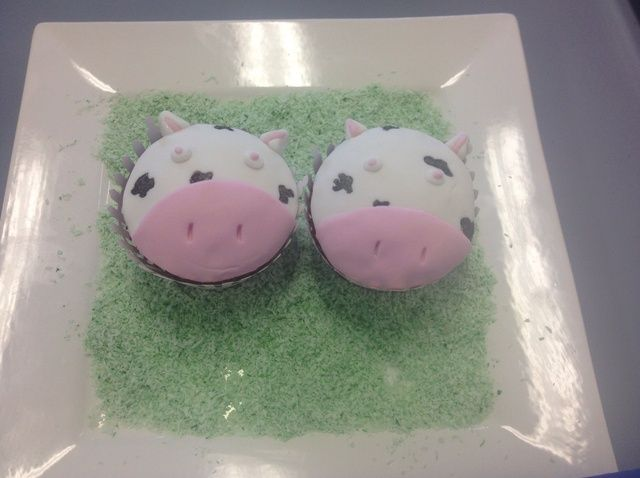 Cómo crear Vaca Cupcakes Receta