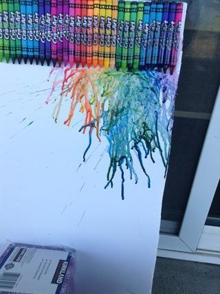 Puede colores de mezcla de adultos juntos y obligarlos a gotear.