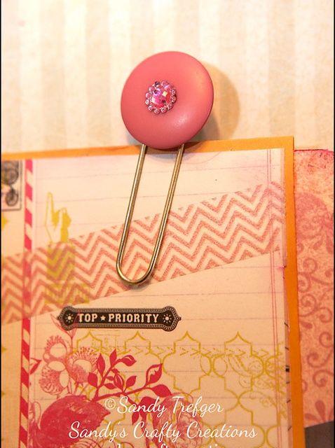 Cómo crear papel decorativo adornos Clip
