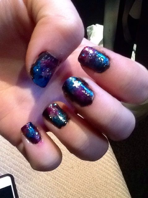 Cómo crear Galaxy Nails